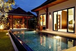 2villas Pool @ sunset 004