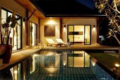 2villas Pool @ sunset 007