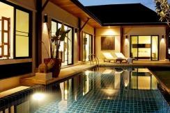 2villas Pool @ sunset 023