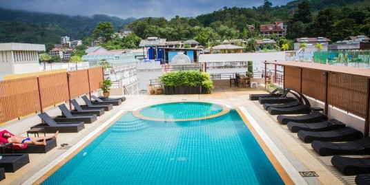 80 room hotel for lease in Patong