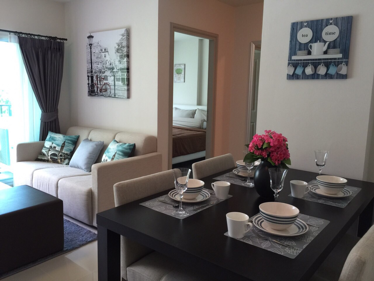 Brand new 2 bedroom apartment with pool view for rent in Kathu