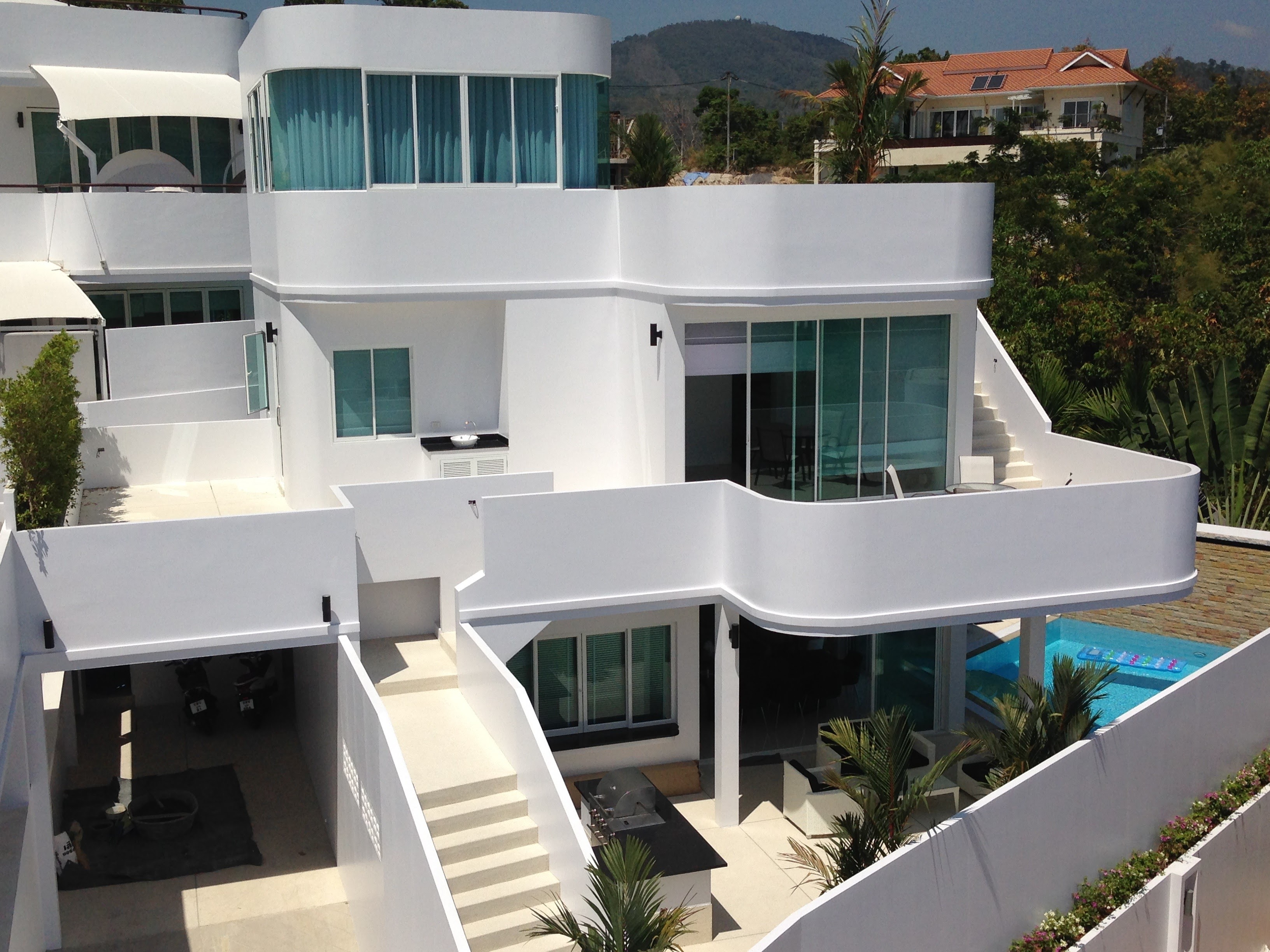 Modern 4 bedroom villa overlooking Chalong Bay Phuket