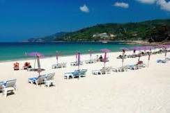 Sea view restaurant business for sale in Patong