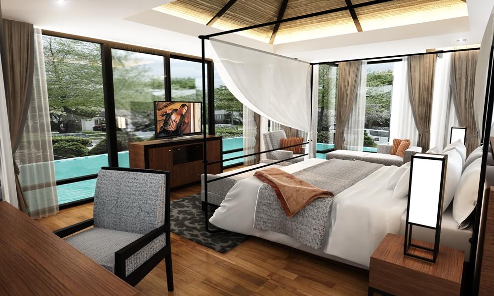 Brand New 2 and 3 bedroom Pool villa in Paklok For Sale