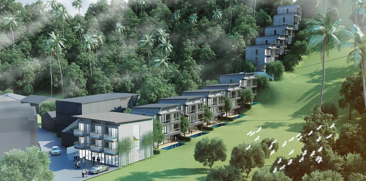 Modern Pool Villas with 4 bedroom only 300 meters to Kata Beach