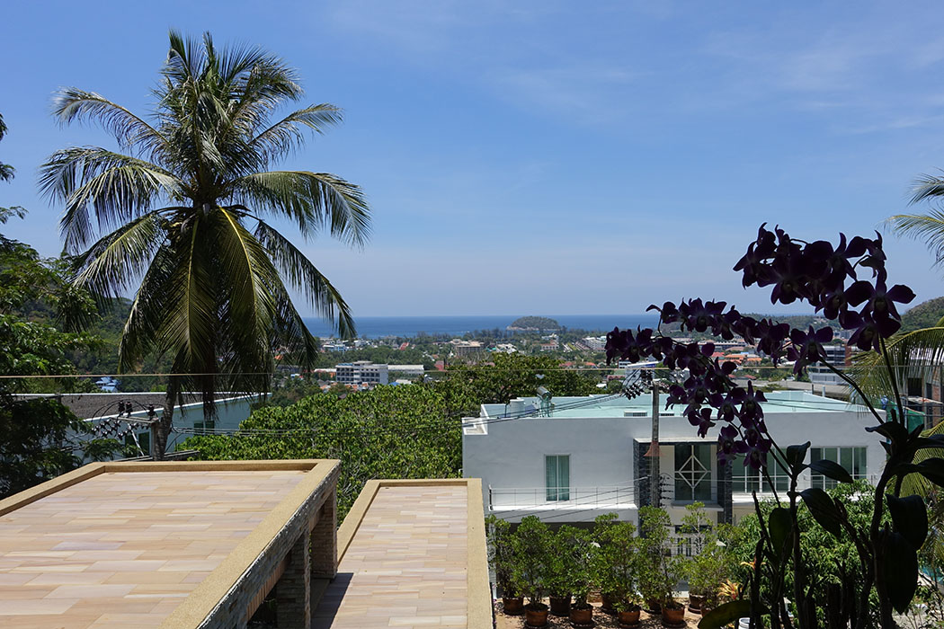 Sea View 3 Bedroom Pool Villa for sale in Kata Beach Price 26.89 MTHB