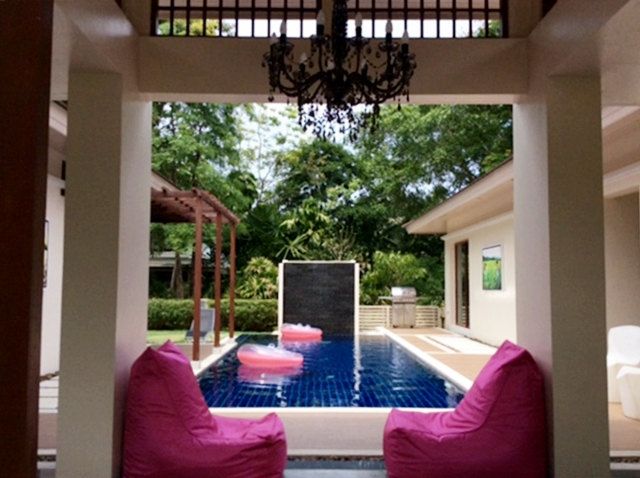 Modern Asian Pool Villa Resort Style 3 Bedroom for rent in Kok Keaw