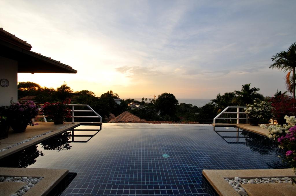 Sea View of Kata Beach 2 Bedroom Pool Villa for Holiday Rental