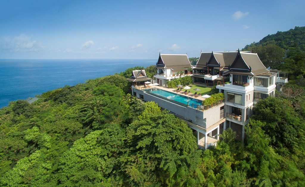 Luxury Villa Panoramic views of the Andaman Sea turquoise waters for rent in Kamala Beach
