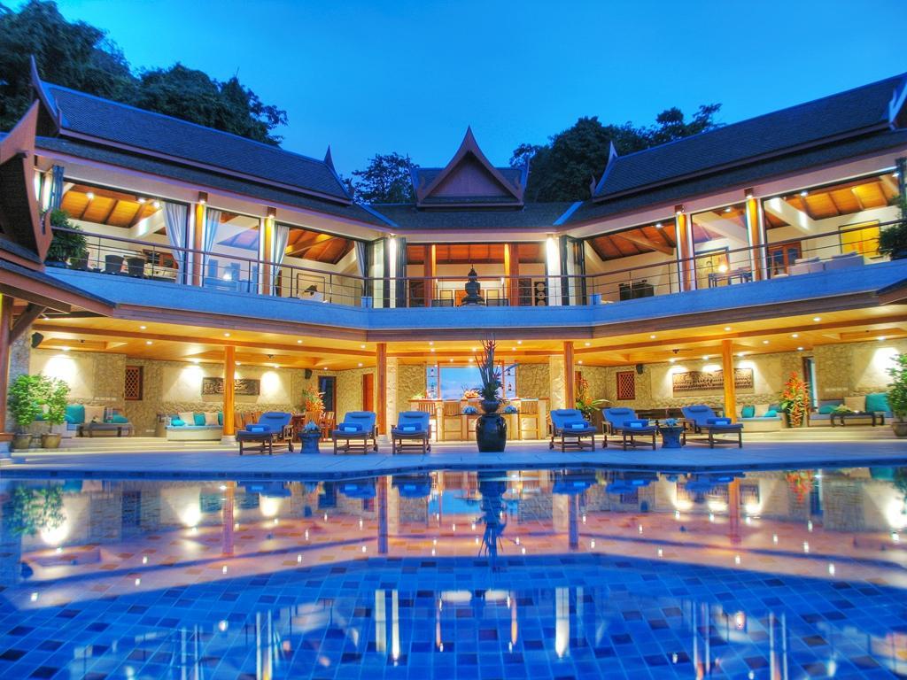 The Elegant Sea View of 6 bedroom Pool villa on the Top of Surin Beach Hillside