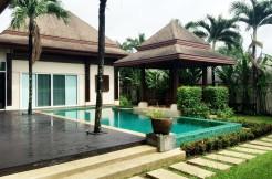 Balinese Style Pool Villa 3 Bedroom for Sale in Koh Keaw