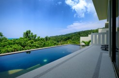 Pool Villa 2 bedroom with Sea view in Nai Thon Beach