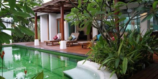 Tropical Balinese Pool Villa 3 Bedroom for Rent