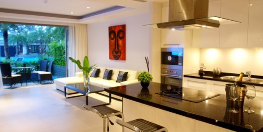 Extremely well appointment 2 Bedroom Luxury Apartment for rent. The beach is just 50 meters away.