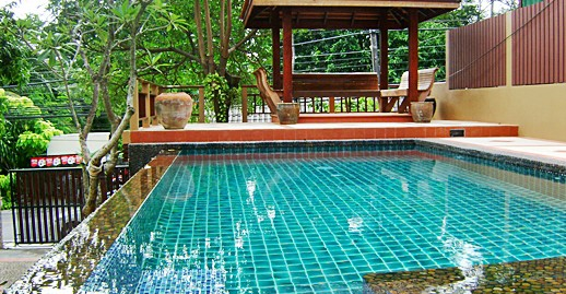 Thai Style of 4 Bedroom Private Pool villa for sale 14 MTHB