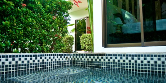 One Bedroom Villa with Plunge Pool in Naiharn Beach