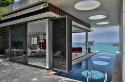Fabulous sea view apartment nestled high above Kata Beach
