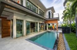 A brand new 3 bedroom Pool Villa-chic and modern Laguna area