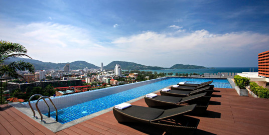 Stylish apartment 1-2 Bedroom only 500 meters to Patong Beach