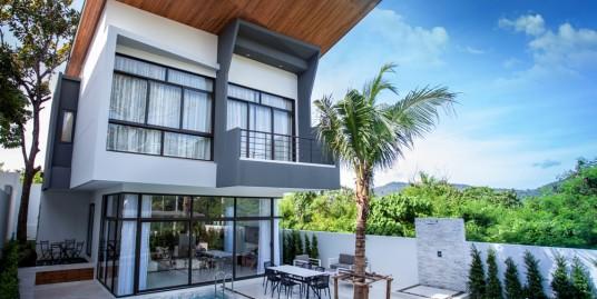 Charming modern 3 Bedroom Pool Villa for rent in Nai Harn-Rawai