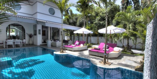 Gorgeous 3 Bedroom Pool Villa for sale in Nai harn Price 15.9 MTHB