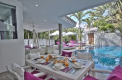 Geogeous 3 Bedroom Pool Villa for Rent in Nai Harn Beach