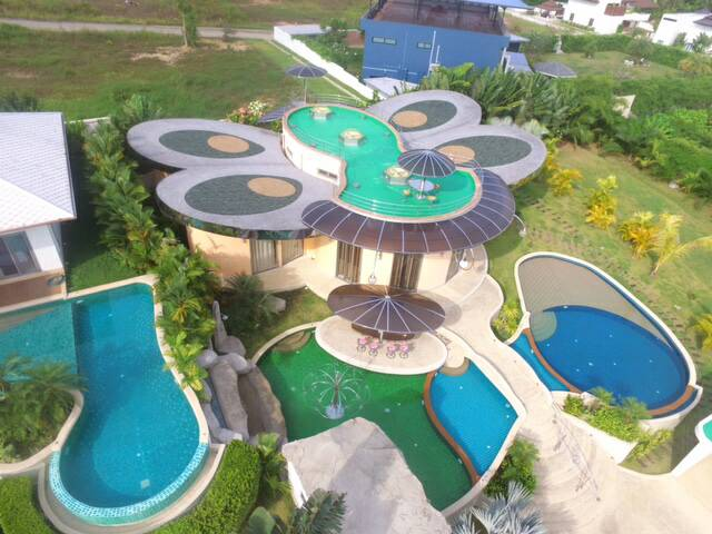 Butterfly Villa 4 Bedrooms Big Swimming Pool