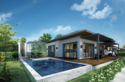 Prime Location & Convenient Living Pool Villa for sale at the heart of Chalong