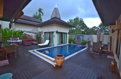 Stunning Thai architectural features of 3 Bedrooms Pool Villa in Layan Beach