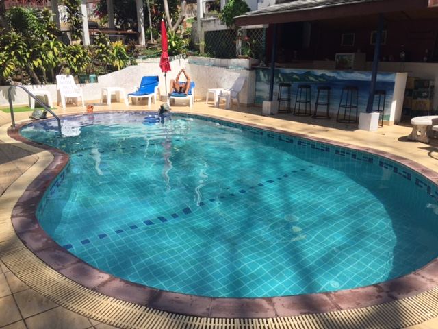 Apartment style resort located in a tropical area in Patong