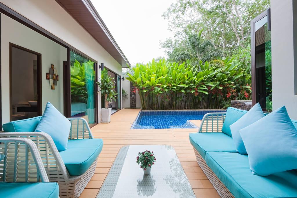 Pool Villa 2 Bedrooms near Naiharn & Rawai Beach