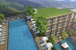 Apartment 45 sqm Good investment of Rental Guarantee 7% for 15 years