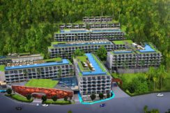 New sea view condominium only 200 meters from Surin Beach ROI 8% for 3 years