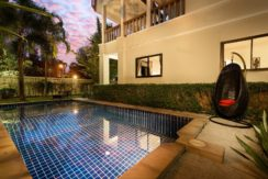 A spacious cozy 3 BD Pool villa in traditional Thai style with elements of modernity offers, 60 meters to Kamala beach
