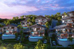 Modern Tropical 2 & 3 BD Pool Villa overlooking Kamala Beach & Mountain