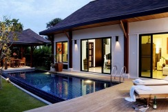 3 & 4 bedroom villas with swimming pool for sale in Nai Harn Phuket