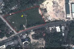 4 Rai of land for sale in Patong Phuket
