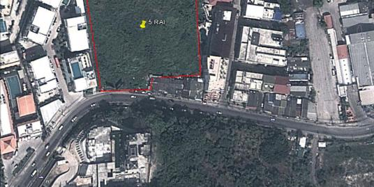 5 Rai of land for sale in Patong