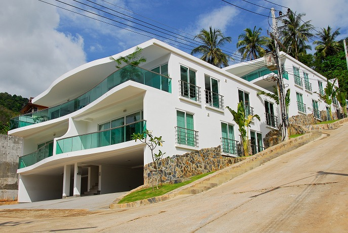 Sea view condo and apartments for sale in Kata Phuket