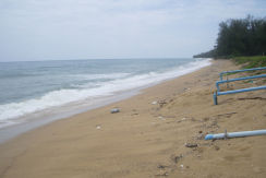 32 Rai of beach front land for sale in Mai Khao Phuket