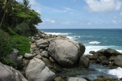 10 Rai of ocean front land for sale in Kata Phuket Thailand