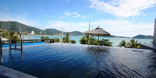 18 room beach front hotel with swimming pool for sale in Phuket