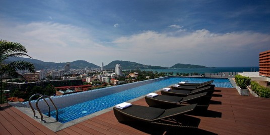 Modern new studio apartment for rent in Patong