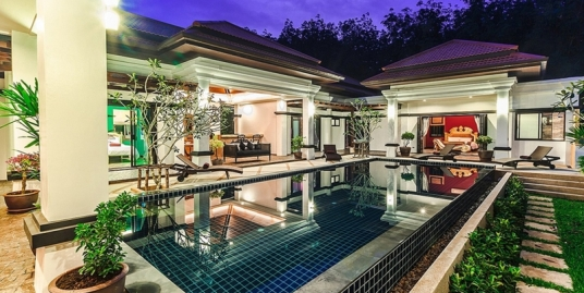 4 bedroom Luxury Pool Villa for rent in Cherngtalay Phuket