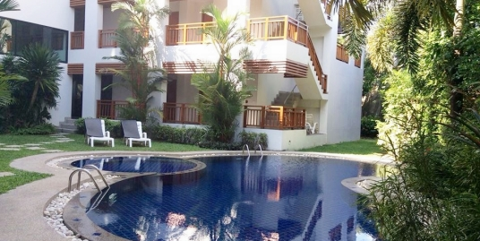 1 bedroom apartment for rent 5 mins walk to Surin Beach Phuket