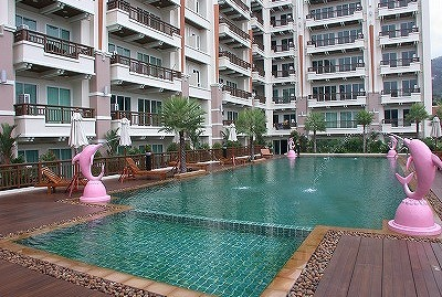 1 bedroom condo near Jungceylon for long term rent