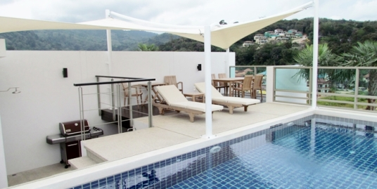 2 Bedroom Sea View Penthouse With Private Pool for sale in Kamala Phuket