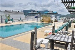 52 room hotel with pool and restaurant for lease in patong