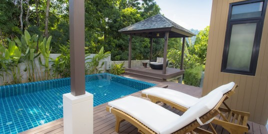 Private Pool Villa 2 bedroom for rent in Paklok Phuket