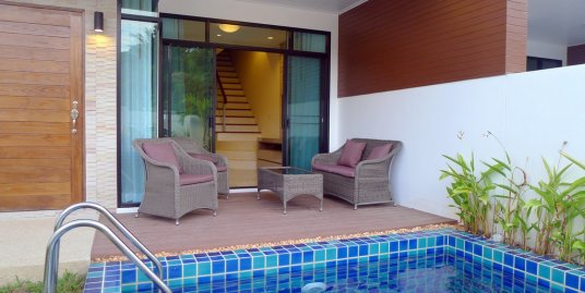 3 bedroom town house with private pool for rent in Kamala Phuket